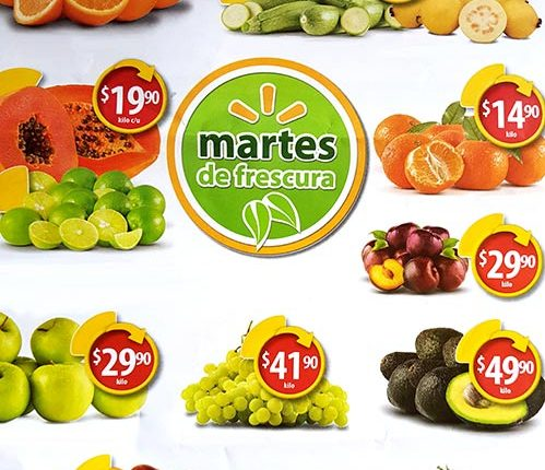 Walmart Martes de Frescura 9 de octubre 2018