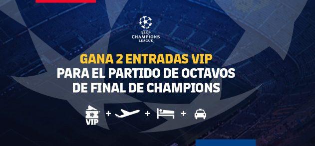 Concurso FC Barcelona: Gana viaje y boletos VIP para los octavos de final de la Champions League