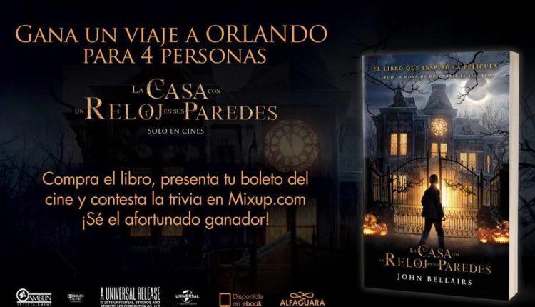 Concurso Mixup La Casa con un Reloj en sus Paredes: Gana un viaje a Orlando para 4 personas