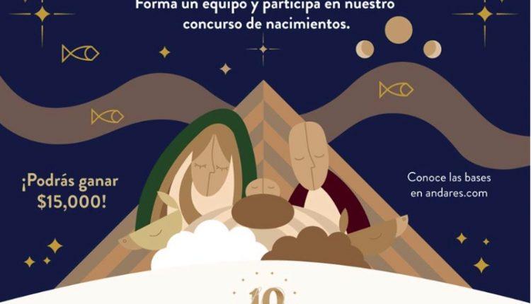 Concurso de Nacimientos Andares 2018: Gana de $5,000 a $15,000 pesos