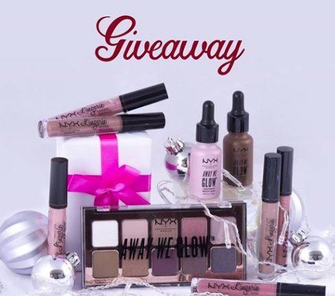 Giveaway Bellísima: Gana una colección de cosméticos Nyx