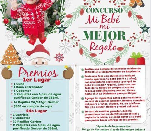 Concurso Casa Ley Mi Bebé Mi Mejor Regalo de Navidad: Gana cuna, carriola, andadera, cobertores y más
