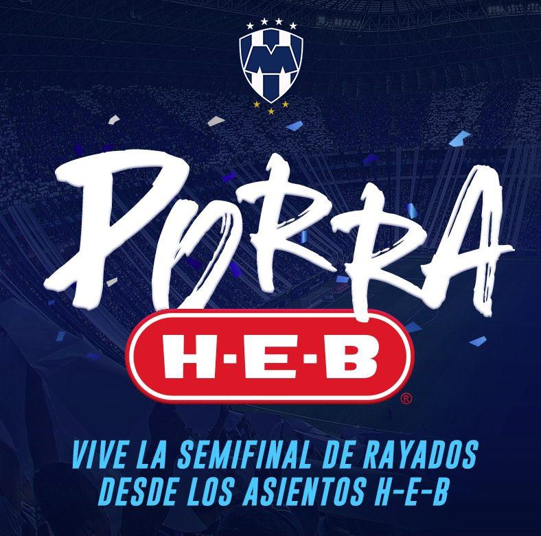 Concurso Porra HEB  Gana 1 de 20 boletos dobles para la semifinal Rayados  de Monterrey vs ... 6869ee44bfc21