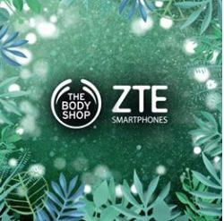 Concurso navideño The Body Shop y ZTE: Gana un celular ZTE Blade V9 Dorado y un kit de productos