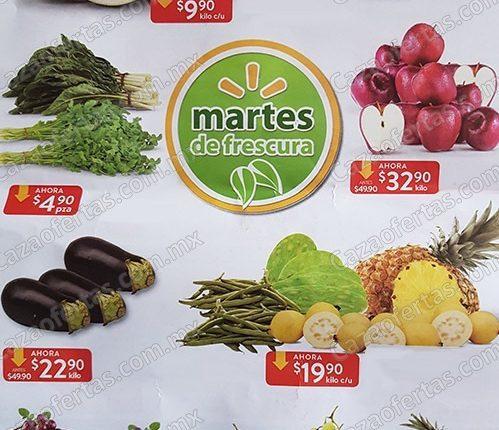 Walmart Martes de Frescura 4 de diciembre 2018