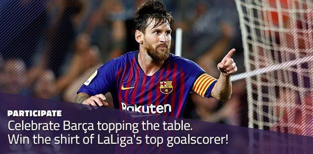 Concurso FC Barcelona: Gana una camiseta firmada por Lionel Messi