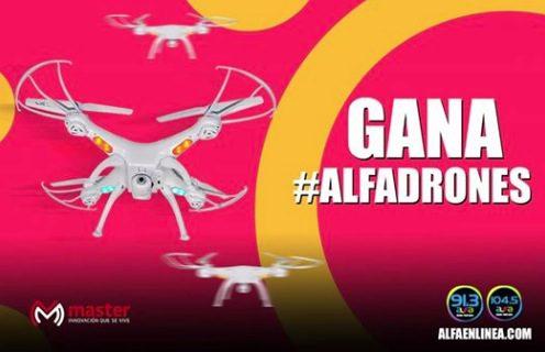 Concurso Alfa 91.3 FM 2019: Gana drones de lunes a viernes