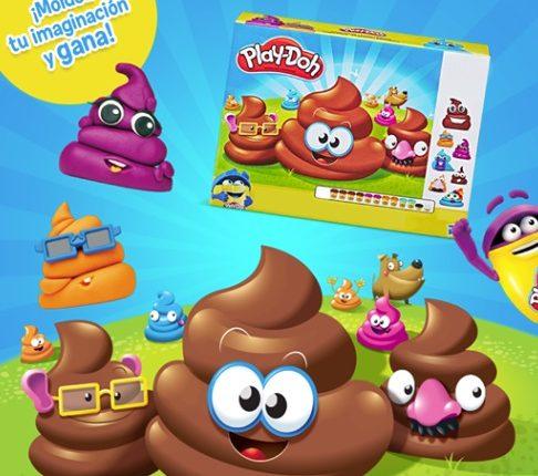 Concurso Play-Doh: gana un kit de tropa popó