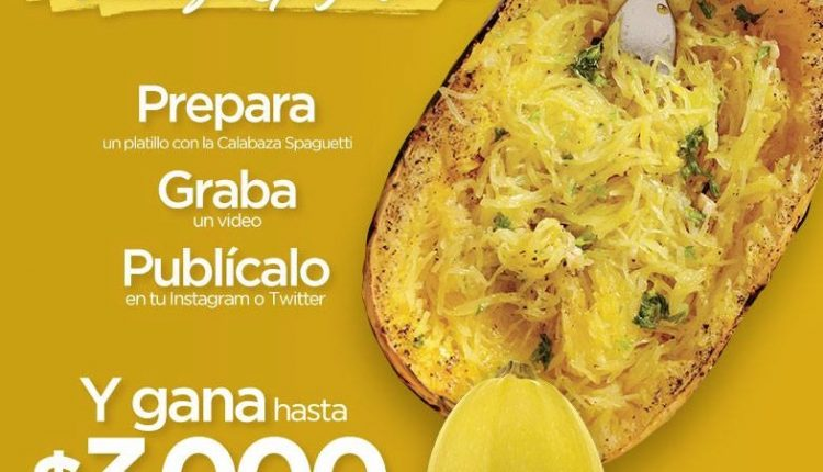 Concurso Sams Club Calabaza Spaguetti: Gana de $2,000 a $3,000 en certificado de regalo