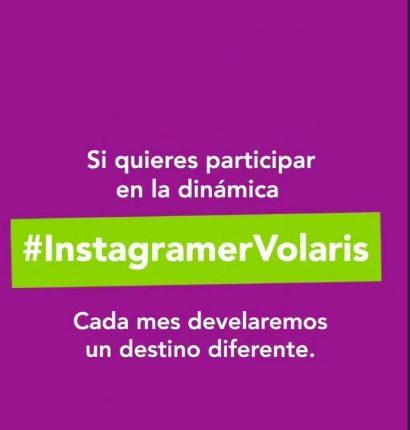 Concurso #InstagramerVolaris 2019: Gana un vuelo redondo a cualquier destino Volaris