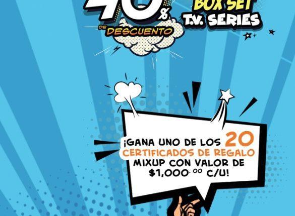 Concurso Zima y Mixup: Gana 1 de 20 certificados de regalo Mixup de $1,000 pesos