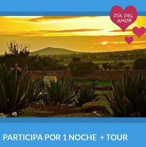 Sorteo Cuponatic del Amor y la Amistad: Gana estancia y cena romántica en Ometusco, Mex.