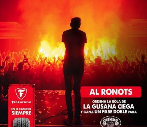 Gana boletos para los conciertos de La Gusana Ciega en San Luis Potosí, Monterrey, Matamoros y Tampico con Firestone