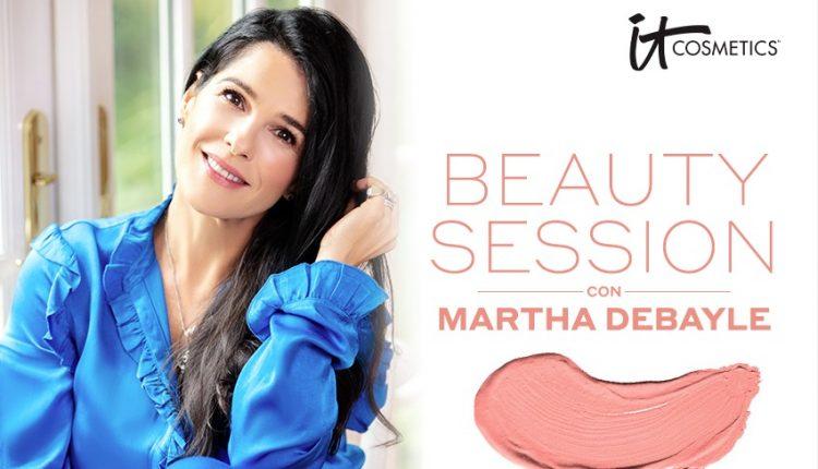 Gana una sesión de belleza y maquillaje con Martha Debayle cortesía de It Cosmetics
