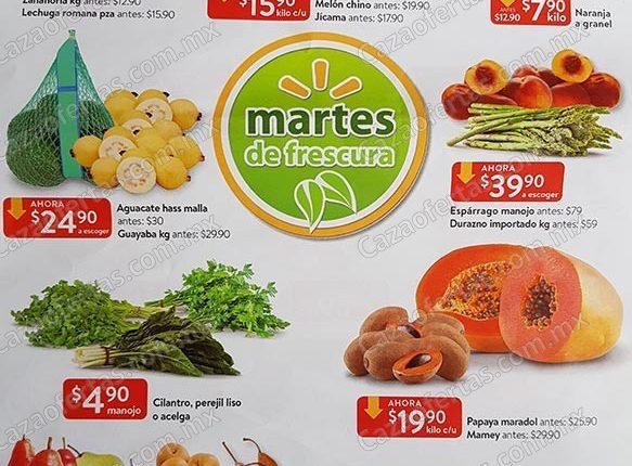 Walmart Martes de Frescura 26 de febrero 2019