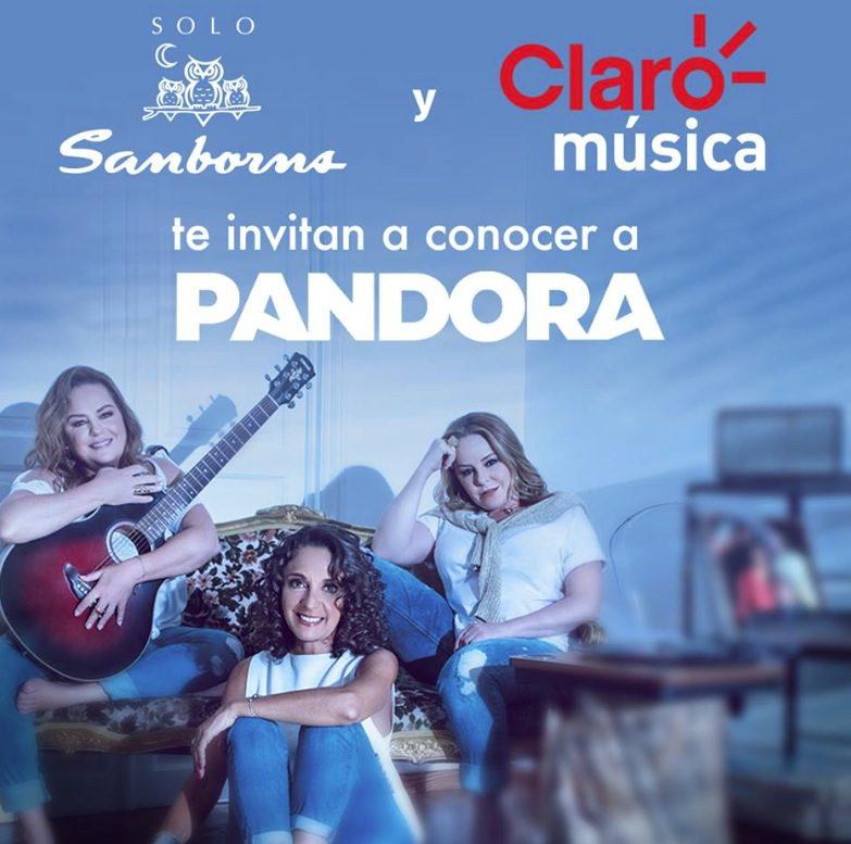 839a780c27c9 Gana una convivencia con el grupo Pandora cortesía de Sanborns y Claro  Música