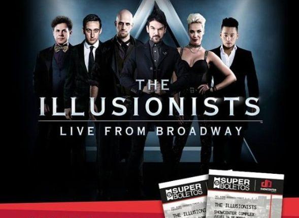 Gana boletos para el espectáculo The Illusionists Live from Broadway con Fashion Drive