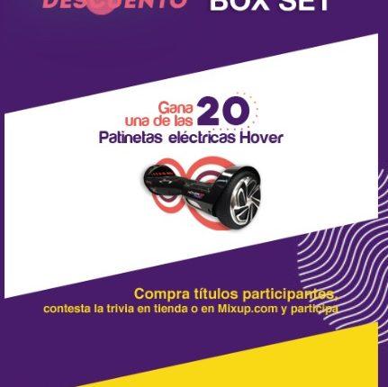 Concurso Mixup: Gana 1 de 20 patinetas eléctricas Hover