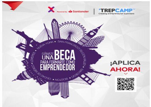 Concurso Santander Trepcamp 2019: Gana una beca de formación para emprendedores