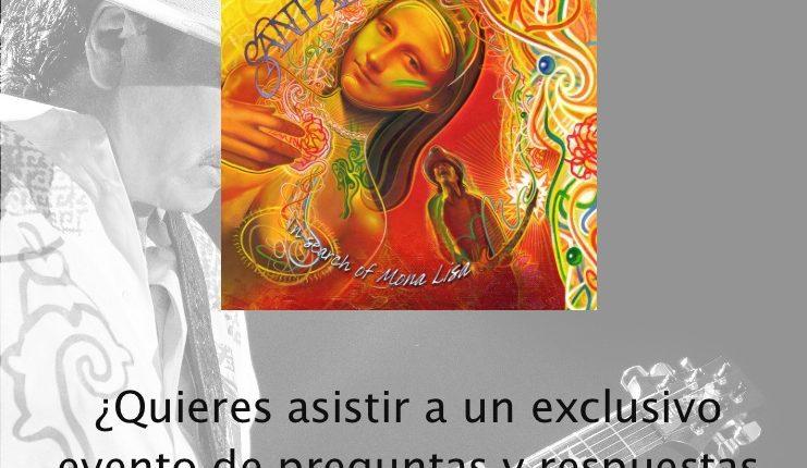 Concurso Universal Music: Gana entradas para un evento exclusivo con Carlos Santana y escucha su nuevo material