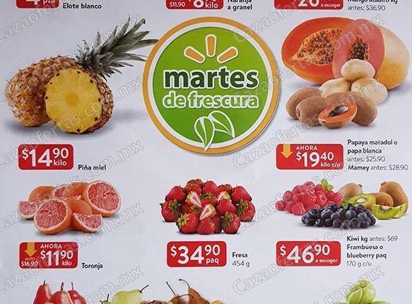 Walmart Martes de Frescura 5 de marzo 2019