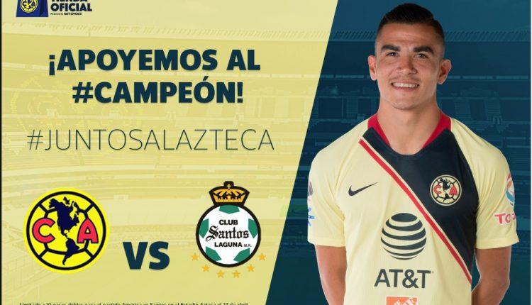 Gana 1 de 10 pases dobles para el partido América vs Santos en el Estadio Azteca