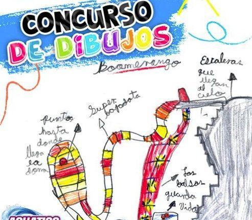 Concurso de dibujos Aquatico Inbursa: Gana 5 entradas para el parque acuático