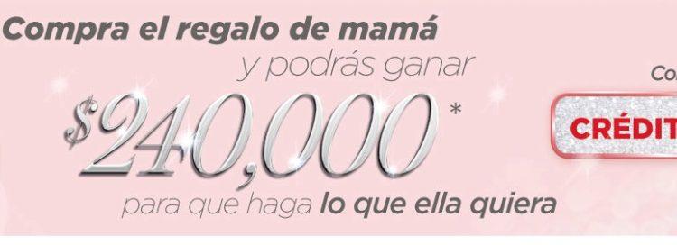 Promoción Elektra Día de las Madres 2019: Gana 1 de 5 premios de $240,000 pesos