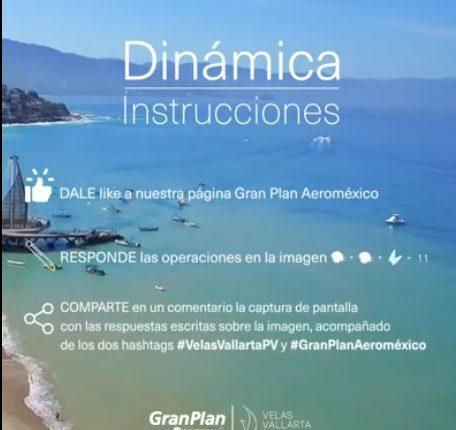 Concurso Gran Plan Aeroméxico: Gana viaje doble a Puerto Vallarta y estancia en Velas Vallarta