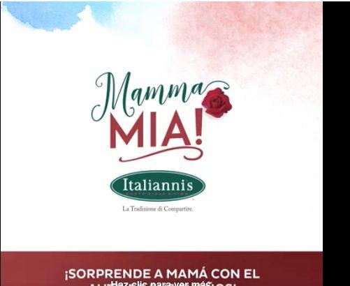 Promoción Italianni's Mamma Mia 2019 Día de las Madres: Gana auto Fiat Mobi 2019, monederos de $10,000 y más
