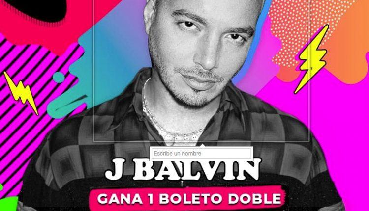 Gana 1 de 5 boletos dobles para ver a J Balvin en Cancún cortesía de Shah Entertainment