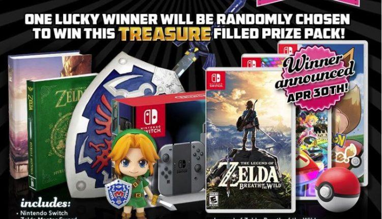 Concurso ShirtPunch: Gana un paquete de Zelda con consola Nintendo Switch, juegos y más