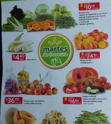 Walmart Martes de Frescura 16 de abril 2019
