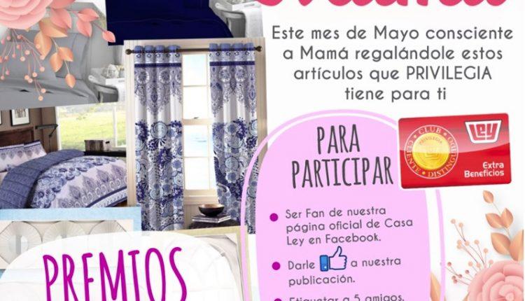 Concurso del Día de las Madres Casa Ley: Gana un kit de decoración para el hogar