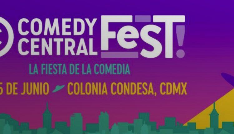 Gana boletos gratis para el Comedy Central Fest 2019 en www.comedycentralfest.com
