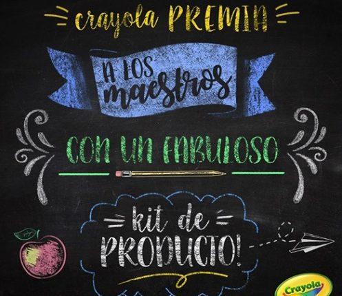 Concurso del Día del Maestro Crayola: Gana un kit de productos