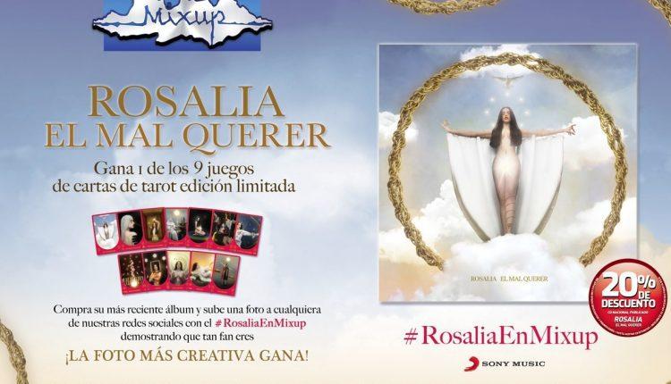 Concurso Mixup Rosalia: Gana 1 de 9 juegos de cartas de tarot edición especial
