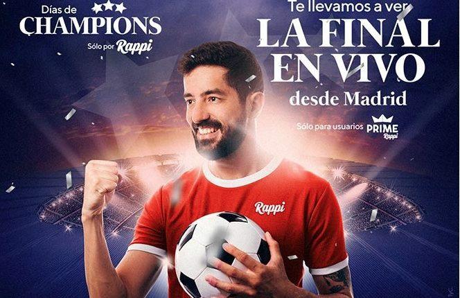Promoción Rappi Champions League: Gana viaje a la Final Madrid 2019