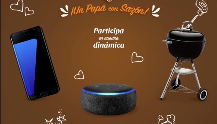 """Concurso Día del Padre La Morena """"Un Papá con Sazón"""": Gana celular Samsung, asador o una bocina Echo Dot"""