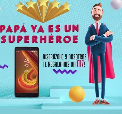 Concurso Lanix Día del Padre: Gana un Smartphone Illium M7 Lanix