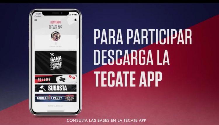 Promoción Tecate 2019: Gana Experiencias Únicas de música, futbol o box en la Tecate App