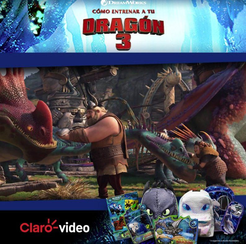 Claro Video Regala Un Kit Exclusivo De Como Entrenar A Tu Dragón 2 Con Mochila Dragones Set De Playmobil Y Más