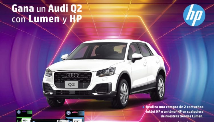 Promoción Lumen y HP: Gana una camioneta Audi Q2 2019
