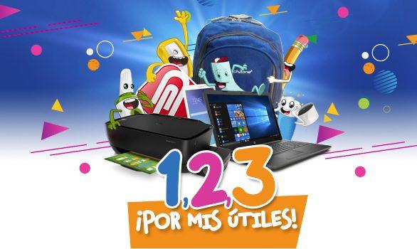 Concurso Ofix 123 por mis Útiles: Gana laptop, tablet, impresora, mochila o bocinas