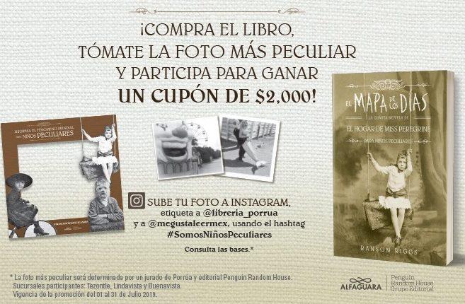 """Concurso Porrúa """"El Mapa de los Días"""": Gana cupón de $2,000 para la compra de libros"""