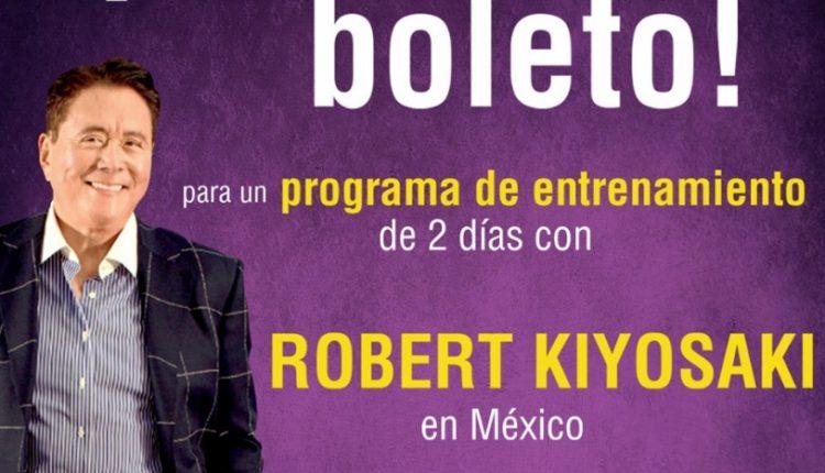 Concurso Librería Porrúa: Gana boleto para asistir 2 días de entrenamiento intensivo con Robert Kiyosaki