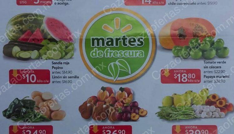Walmart Martes de Frescura 16 de julio 2019