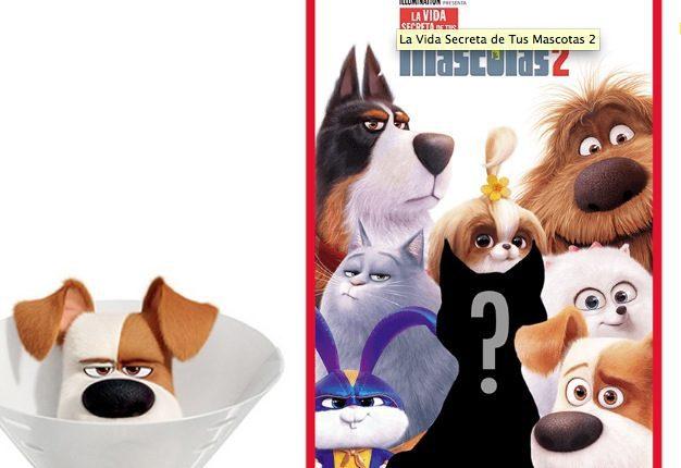 Concurso Cinemex La Vida Secreta de tus Mascotas 2: Gana que tu mascota aparezca en el póster de la película