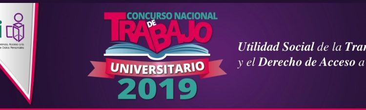 Concurso de Trabajo Universitario INAI 2019: Gana de $10,000 a $30,000 pesos