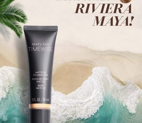 Concurso Mary Kay Maquillaje Líquido TimeWise 3D: Gana viaje doble a la Riviera Maya